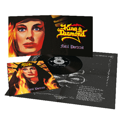 Fatal Portrait (Ltd. Vinyl Replica Digi CD) von King Diamond - CD jetzt im King Diamond Shop