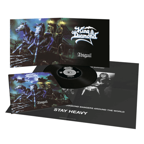 √Abigail (Ltd. Vinyl Replica Digi CD) von King Diamond - CD jetzt im King Diamond Shop
