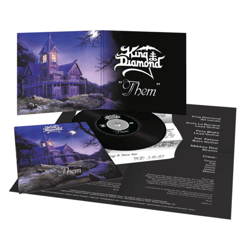 √Them (Ltd. Vinyl Replica Digi CD) von King Diamond - CD jetzt im King Diamond Shop