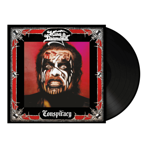Conspiracy (180g Vinyl Re-Issue) von King Diamond - LP jetzt im King Diamond Shop