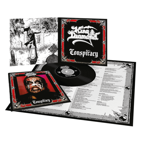 √Conspiracy (Ltd. Vinyl Replica Digi CD) von King Diamond - CD jetzt im King Diamond Shop