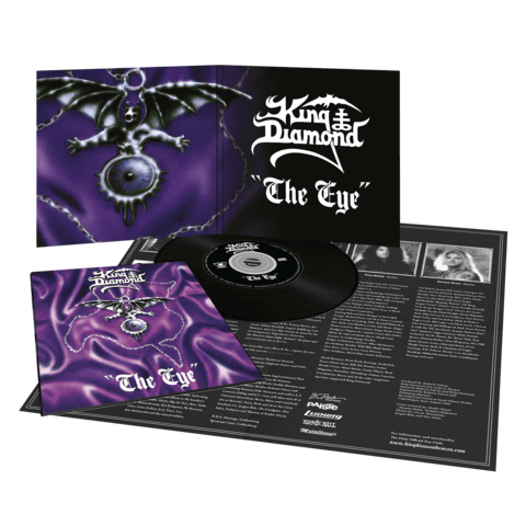 √The Eye (Vinyl Replica Digi CD) von King Diamond - CD jetzt im King Diamond Shop