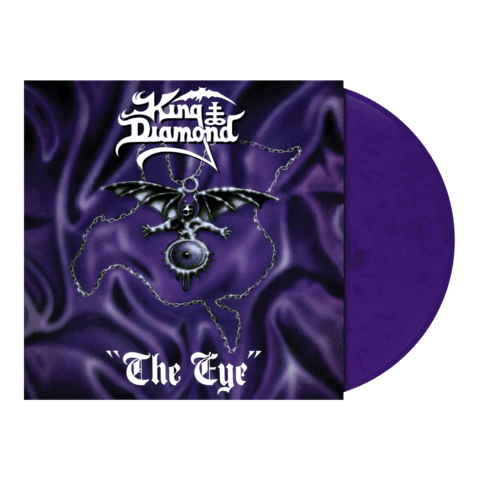 The Eye (Ltd. Purple / Black Marbled LP) von King Diamond - LP jetzt im King Diamond Shop