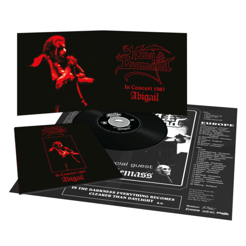 Abigail In Concert 1987 (Vinyl Replica Digi CD) von King Diamond - CD jetzt im King Diamond Shop