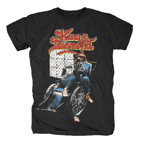 Wheelchair von King Diamond - T-Shirt jetzt im King Diamond Shop