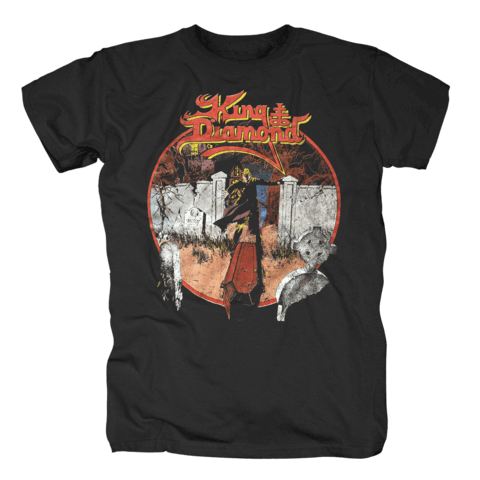 √Conspiracy Tour 1989 von King Diamond - T-Shirt jetzt im King Diamond Shop