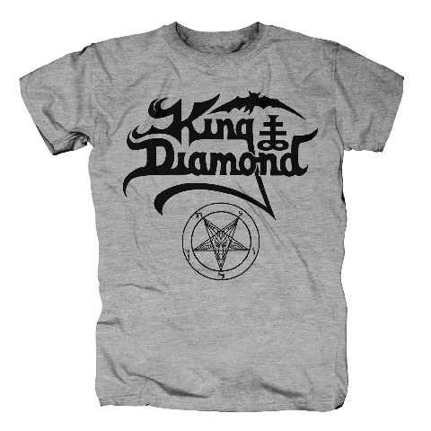 √Black Logo von King Diamond - T-Shirt jetzt im King Diamond Shop