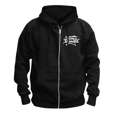 √White Logo von King Diamond - Hooded jacket jetzt im King Diamond Shop