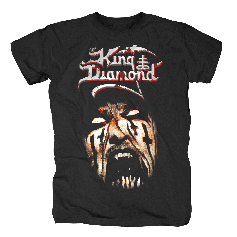 Puppet Master Face von King Diamond - T-Shirt jetzt im King Diamond Shop