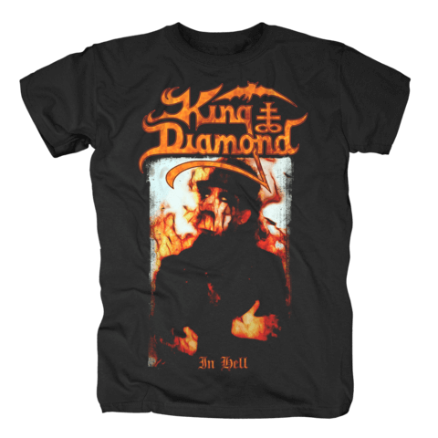 In Hell von King Diamond - T-Shirt jetzt im King Diamond Shop