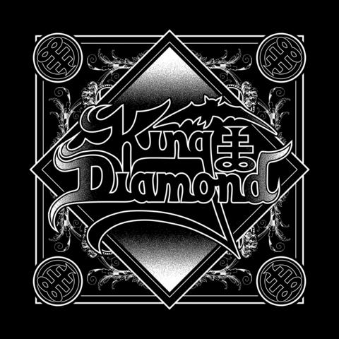 √Ornaments Logo von King Diamond - Bandana jetzt im King Diamond Shop