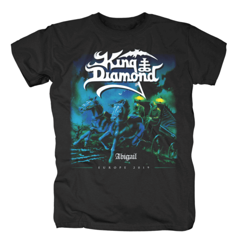 Abigail - European Tour 2019 von King Diamond - T-Shirt jetzt im King Diamond Shop