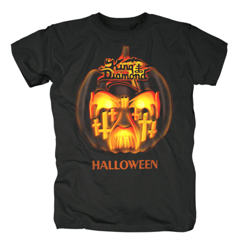 √Halloween Face von King Diamond - T-Shirt jetzt im King Diamond Shop