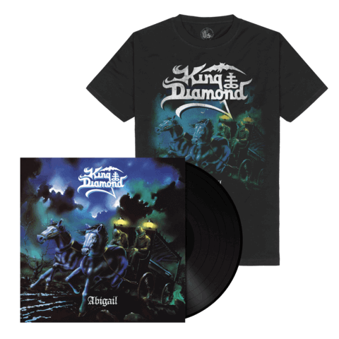 √Abigail (Ltd. Bundle Black LP Re-Issue + Shirt) von King Diamond - LP Bundle jetzt im King Diamond Shop