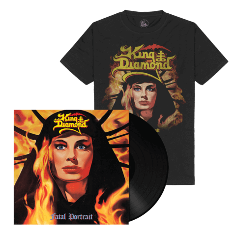 √Fatal Portrait (Ltd. Bundle Black LP Re-Issue + Shirt) von King Diamond - LP Bundle jetzt im King Diamond Shop