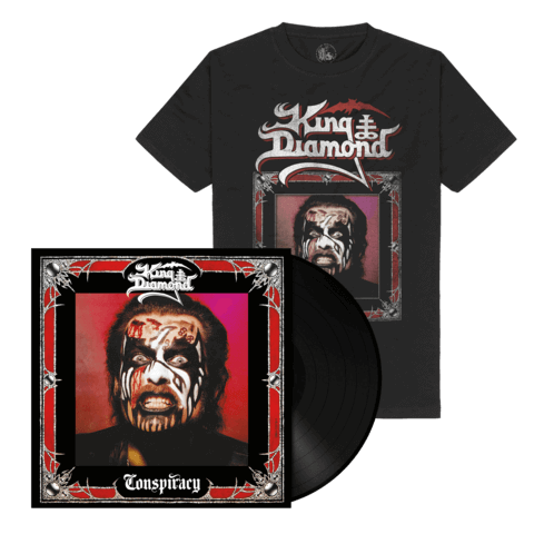 Conspiracy (Ltd. Bundle Black Vinyl + Shirt) von King Diamond - LP Bundle jetzt im King Diamond Shop