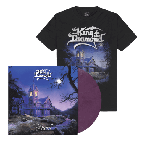 Them (Ltd. Bundle Pastel Violet Marbled Vinyl + Shirt) von King Diamond - LP Bundle jetzt im King Diamond Shop