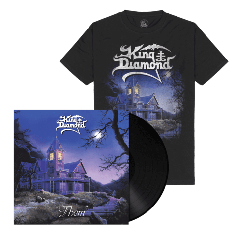 √Them (Ltd. Bundle Black Vinyl + Shirt) von King Diamond -  jetzt im King Diamond Shop