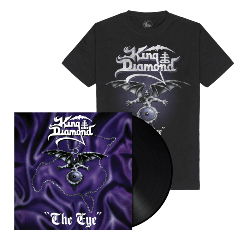 The Eye (Ltd. Bundle Black Vinyl + Shirt) von King Diamond - LP Bundle jetzt im King Diamond Shop
