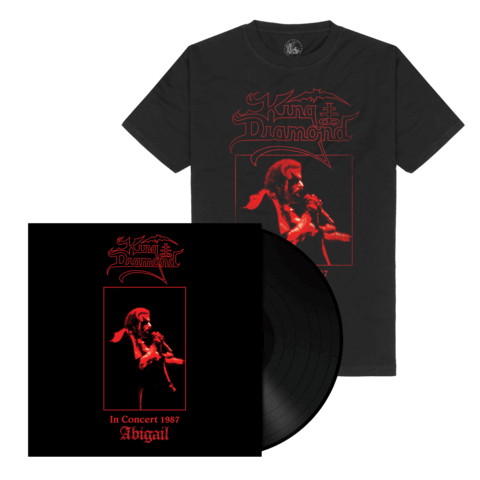 Abigail In Concert 1987(Ltd. Bundle Black Vinyl + Shirt) von King Diamond - LP Bundle jetzt im King Diamond Shop