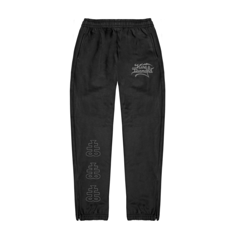√Lightgrey Logo von King Diamond - Sweatpants jetzt im King Diamond Shop