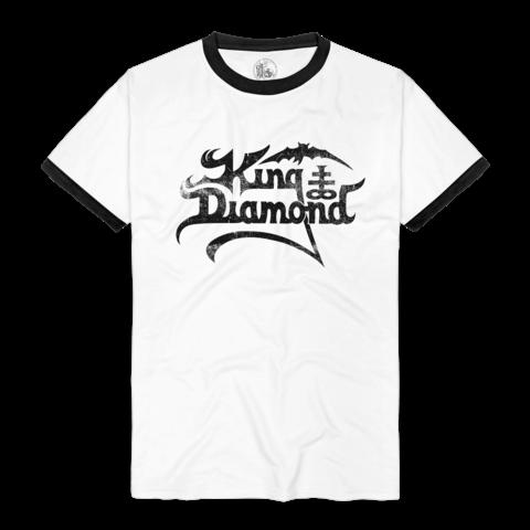 √Logo Ringer Tee von King Diamond - T-shirt jetzt im King Diamond Shop