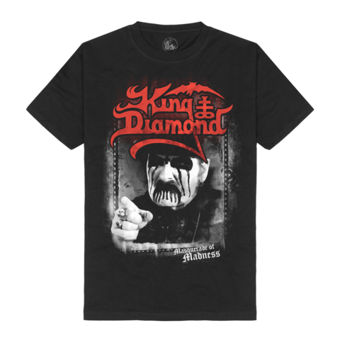 Madness Portrait by King Diamond - t-shirt - shop now at King Diamond store
